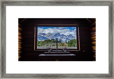 Inside Looking Out Framed Print by Debra Martz
