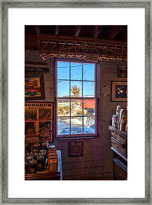Inside Looking Out Framed Print by Thomas Sellberg