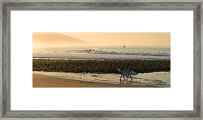 Inside Malibu Framed Print by Ron Regalado