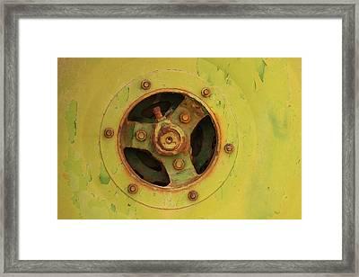 Inside Mechanics Framed Print by Art Block Collections