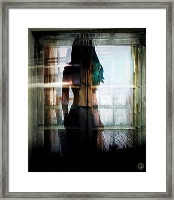 Inside Or Outside Framed Print by Gun Legler