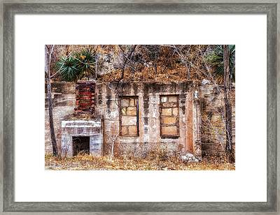 Framed Print featuring the photograph Inside-out Living by Beverly Parks