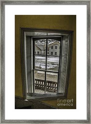 Inside Out Framed Print by Sue Smith