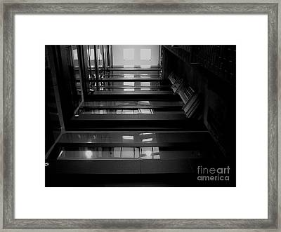 Inside Outside Framed Print by Lin Haring