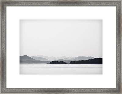 Inside Passage Alaska Framed Print by Carol Leigh