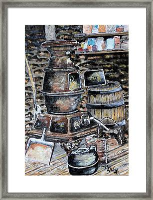 Inside Stone Store Framed Print by Martin Way