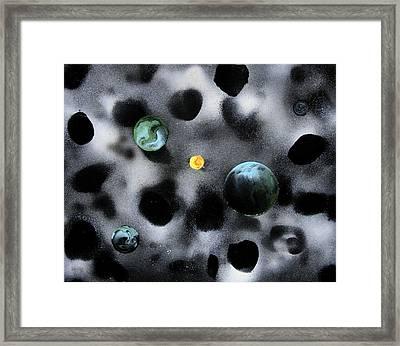 Inside The Bovine Nebula Framed Print
