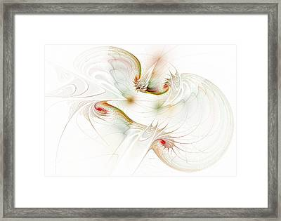 Inside The Brain Framed Print by Deborah Benoit