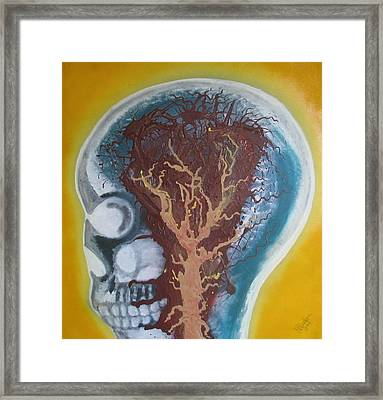 Inside The Brain Framed Print
