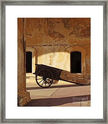 Inside The Fortress Framed Print by Deborah Smith