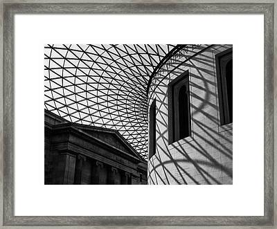 Inside The Gallery Framed Print