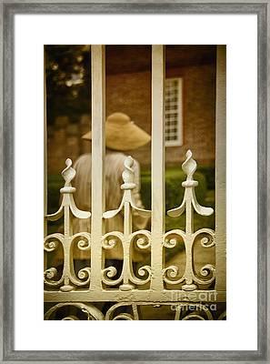 Inside The Gates Framed Print by Margie Hurwich