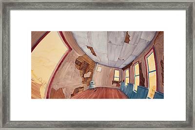 Inside The Old School House IIi Framed Print