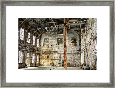 Inside The Old Sugar Mill Framed Print by Diego Re