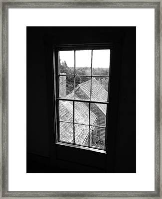 Inside The Olson House Framed Print by Joel White