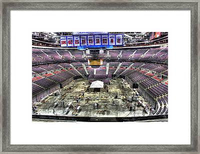 Inside The Palace IIi Auburn Hills Mi Framed Print
