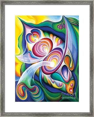 Inside The Revelry Divine Framed Print by Tiffany Davis-Rustam