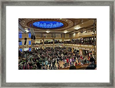 Inside The Spa Four Framed Print
