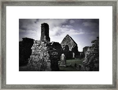 Inside The Walls At Clare Abbey II Framed Print