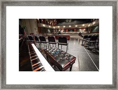 Framed Print featuring the photograph Inside Theater by Alex Grichenko