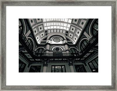 Inside Union Station Framed Print