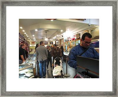 Inside World Famous Pawn Shop Framed Print by Kay Novy