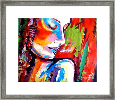 Framed Print featuring the painting Insight by Helena Wierzbicki