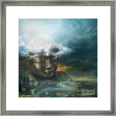Insight Framed Print by Silas Toball
