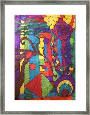 Insomnia 1 Framed Print by Sarah E Kohara