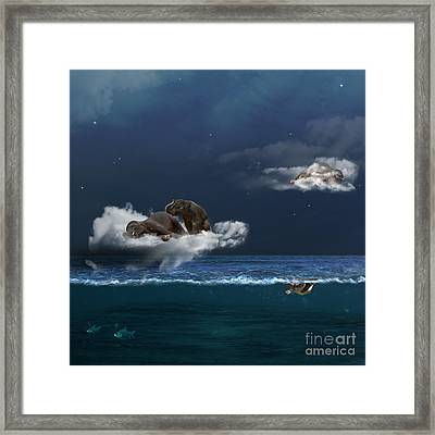 Insomnia Framed Print by Martine Roch