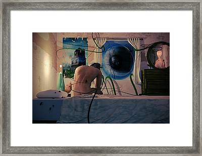 Insomnia Framed Print by Matt Lindley