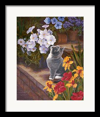 Daffodils Paintings Framed Prints