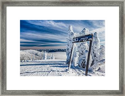 Inspiration Framed Print by Aaron Aldrich