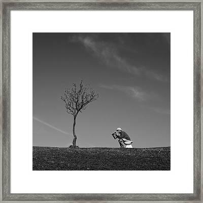Inspiration Framed Print by Carlo Ferrara