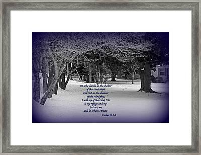Inspiration Framed Print by Carolyn Ricks