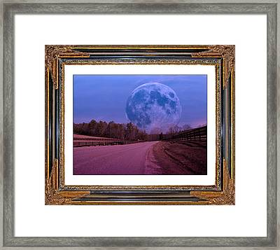 Inspiration In The Night Framed Print