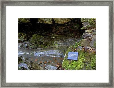 Inspiration Of Robert Burns - Birks Of Aberfeldy - Scotland Framed Print