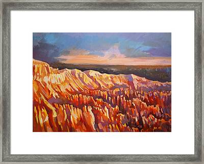 Inspiration Point - Bryce Canyon Framed Print by Filip Mihail