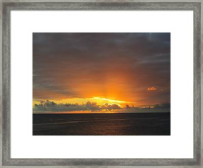 Inspiration Framed Print by Stephanie Francis