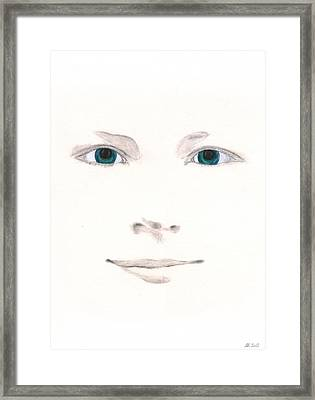Framed Print featuring the drawing Inspiration by Stephanie Grant