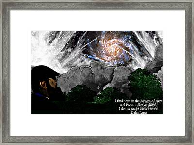 Inspirational #1 Framed Print