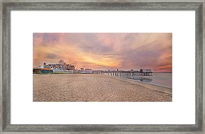 Inspirational Theater Old Orchard Beach  Framed Print