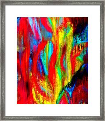 Inspire Experiment Framed Print