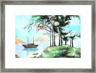 Inspired Framed Print by Anna Androsovski
