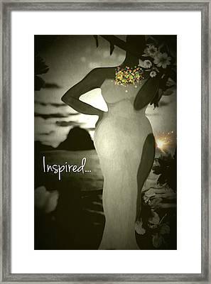Inspired Framed Print by Romaine Head