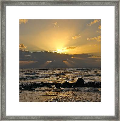 Inspiring Framed Print by Kimberly Davidson
