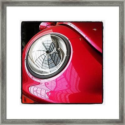 Barbie Beetle Framed Print