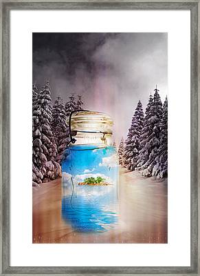 Instant Getaway  Framed Print by Terry Fleckney