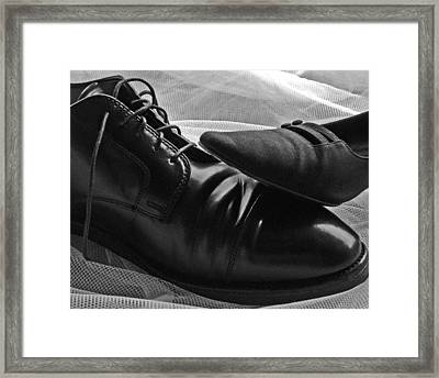 Framed Print featuring the photograph Instep by Lisa Phillips