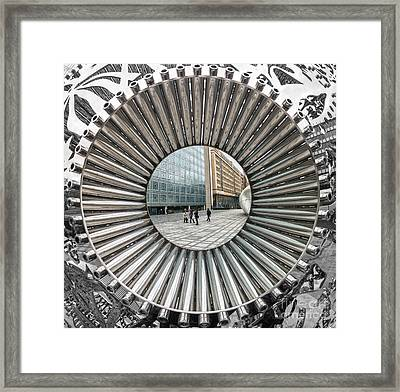 Institut Du Monde Arabe - Paris Framed Print